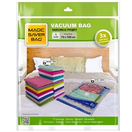 Magic Saver Bag Vakumlu Hurç Poşet 73x130 Cm, Jumbo Boy