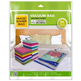Magic Saver Bag Vakumlu Hurç Poşet 80x100 Cm, XXLarge